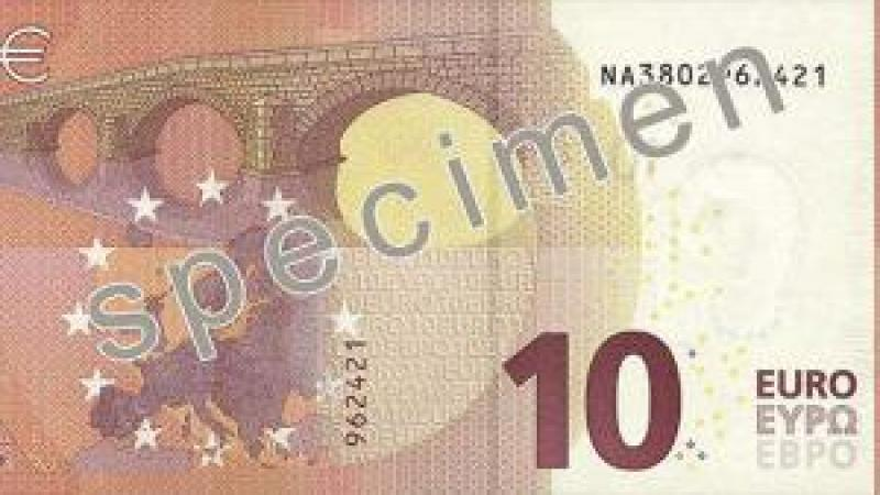 Nowy banknot 10 euro