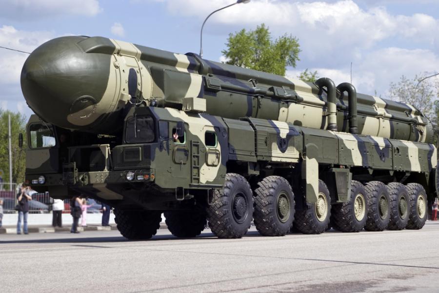 Rosja przeprowadziła test rakiety Topol