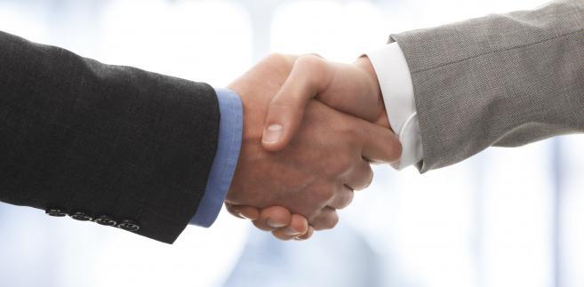 Powitanie, uścisk rąk