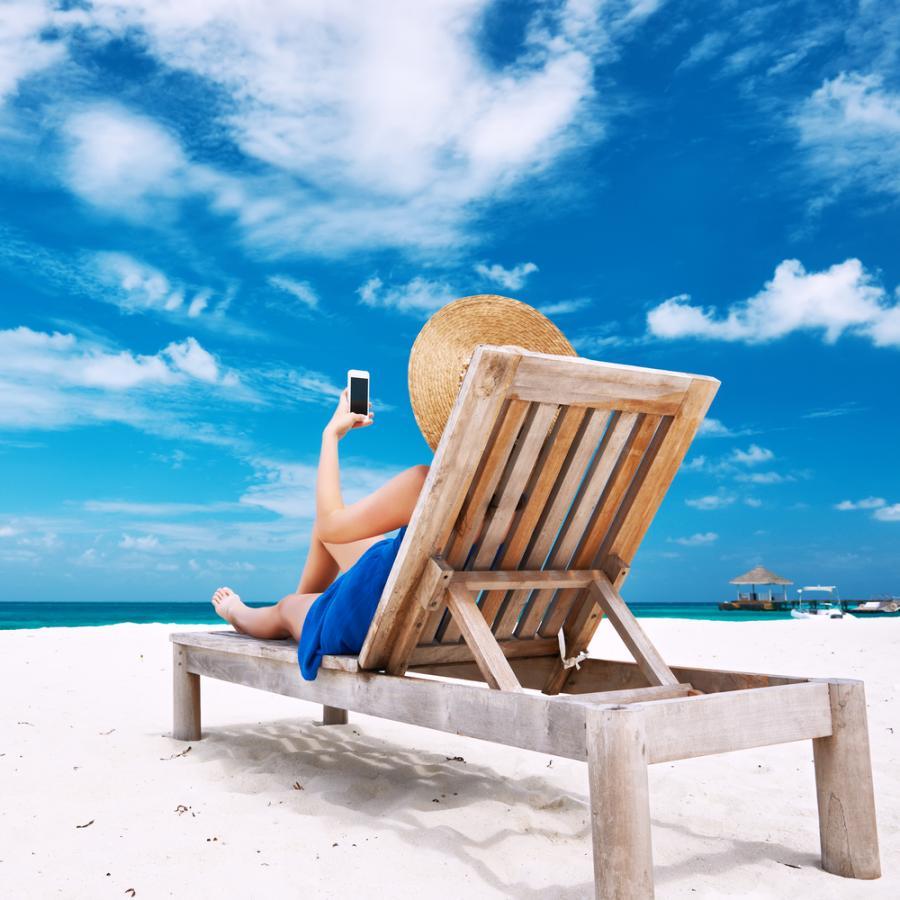 wakacje, roaming, smartfon
