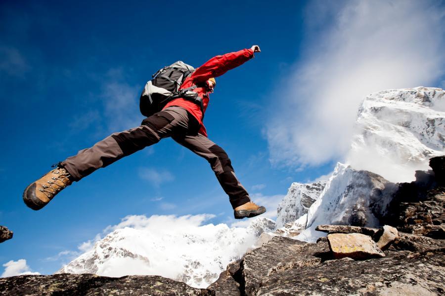 wycieczka górska, góry, wspinaczka