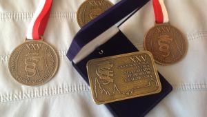 Spartakiada Prawników Kraków 2014 - medale