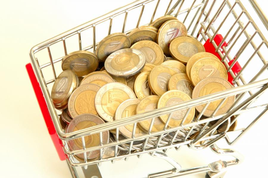 złoty, waluty, sklep, handel