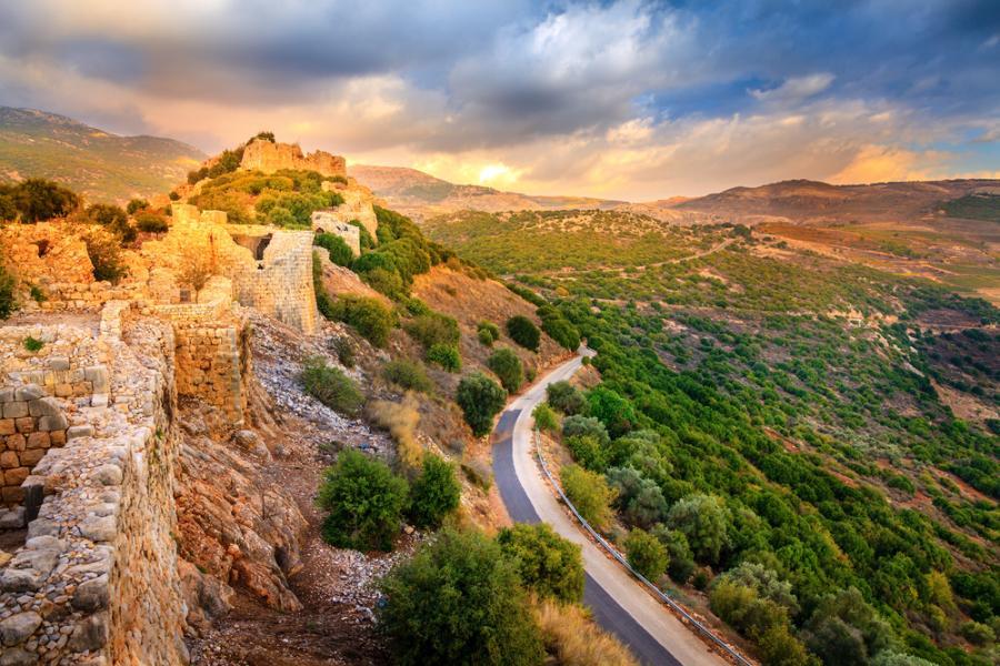 Wzgórza Golan, Izrael