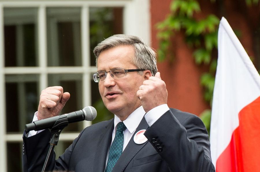 Bronisław Komorowski, PAP/Maciej Kulczyński