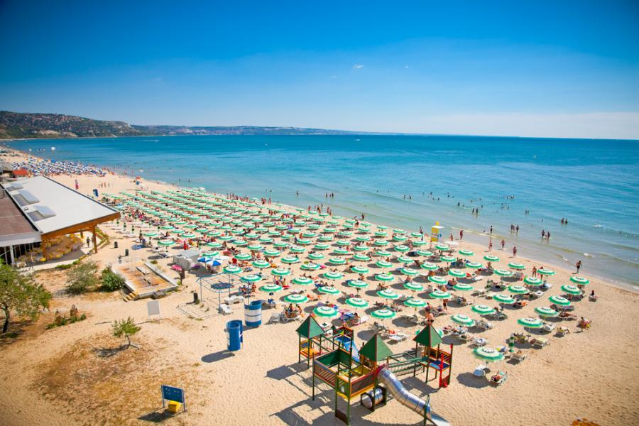 Złote Piaski, plaża, Bułgaria