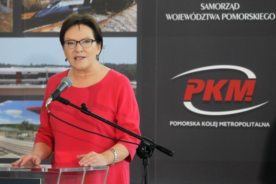 Premier Ewa Kopacz, PAP/Piotr Wittman