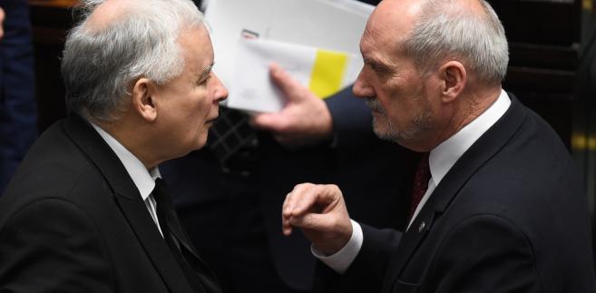 Antoni Macierewicz i Jarosław Kaczyński
