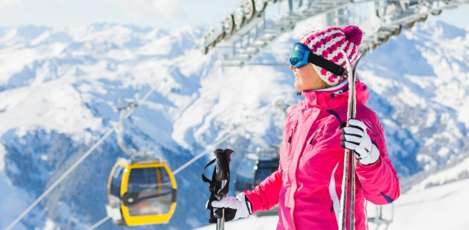 narty, Austria, narciarstwo, zima, śnieg