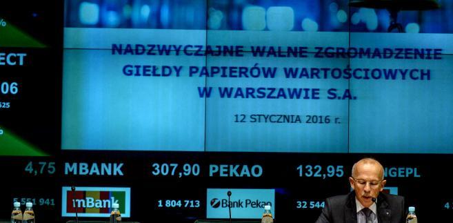 Wiesław Rozłucki odwołany z funkcji prezesa Rady Giełdy