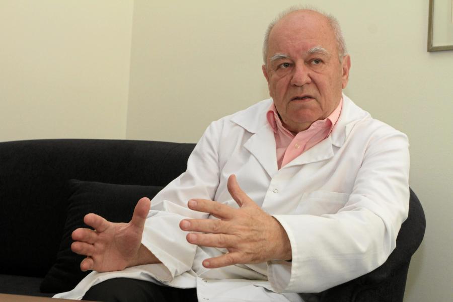 Prof. Andrzej Kubler kierownik Kliniki Anestezjologii i Intensywnej Terapii Uniwersytetu Medycznego we Wrocławiu