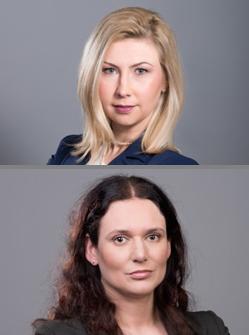 Aleksandra Szyszko i Eliza Szulc