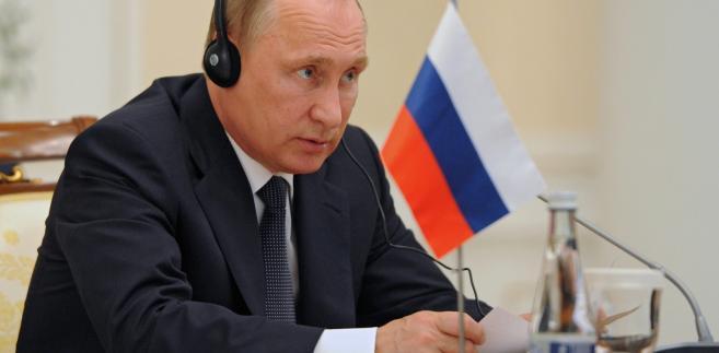 """W wystąpieniu na dorocznym spotkaniu z ambasadorami i stałymi przedstawicielami Federacji Rosyjskiej za granicą Putin powiedział, że obecnie """"rozmyślnie podkreślane jest antyrosyjskie ukierunkowanie NATO""""."""