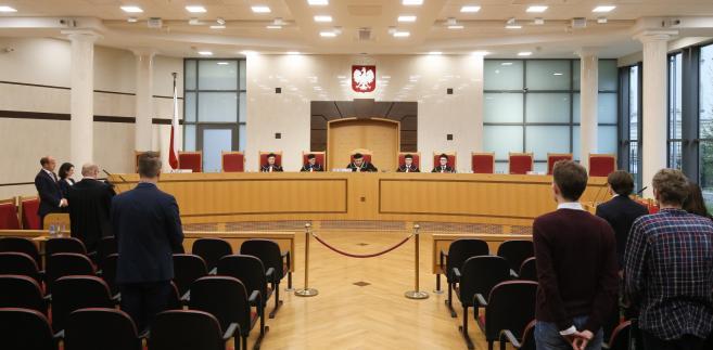 Rzepliński o sędziach TK
