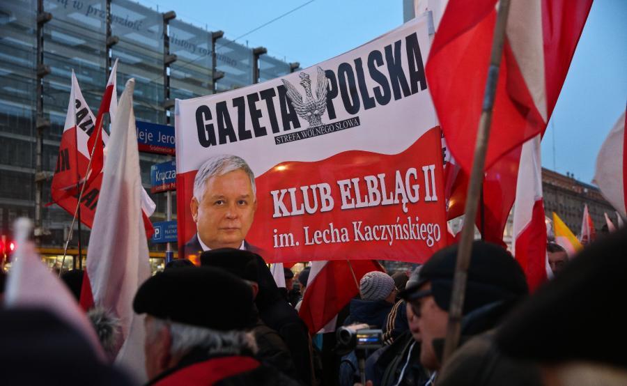 Demonstracja Związku Osób Represjonowanych