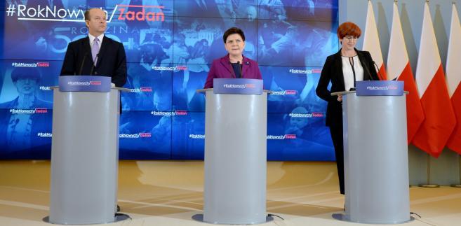 Konstanty Radziwiłł, Beata Szydło, Elżbieta Rafalska