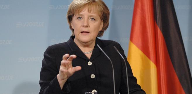 W interesie kanclerz Merkel jest szybkie powstanie rządu