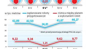Raporty wydobywcze Polskiej Grupy Górniczej