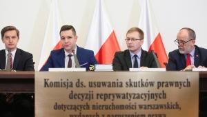 Pierwsza rozprawa przed komisją weryfikacyjną ds. reprywatyzacji.