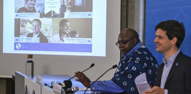 Członkowie fundacji Right Livelihood ogłaszają laureatów tzw. alternatywnych nobli.