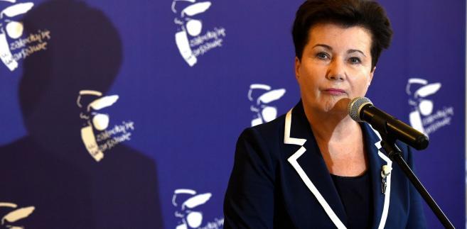 – Pan przewodniczący Patryk Jaki stosuje ustawę o komisji w sposób woluntarystyczny, mszcząc się na politycznych przeciwnikach – uważa Hanna Gronkiewicz-Waltz