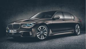 Jazda pod prąd BMW M760Li xDrive