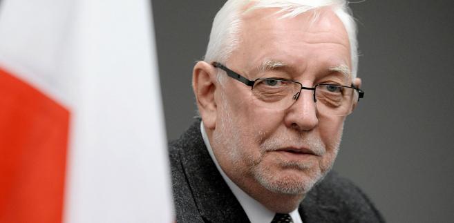 Jerzy Stępień, były prezes Trybunału Konstytucyjnego, współautor reformy samorządowej