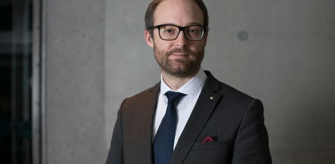 Marek Dietl, prezes zarządu Giełdy Papierów Wartościowych w Warszawie SA