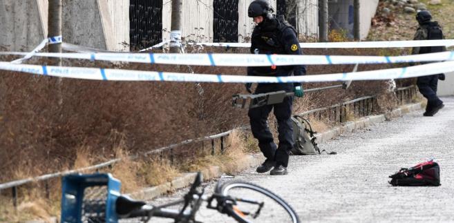 Wybuch miał miejsce tuż obok wyjścia ze stacji metra w Varby, w południowej części Sztokholmu