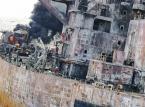 Cztery plamy ropy na Morzu Wschodniochińskim po zatonięciu tankowca