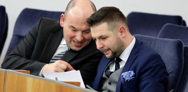 Jan Dziedziczak i Patryk Jaki