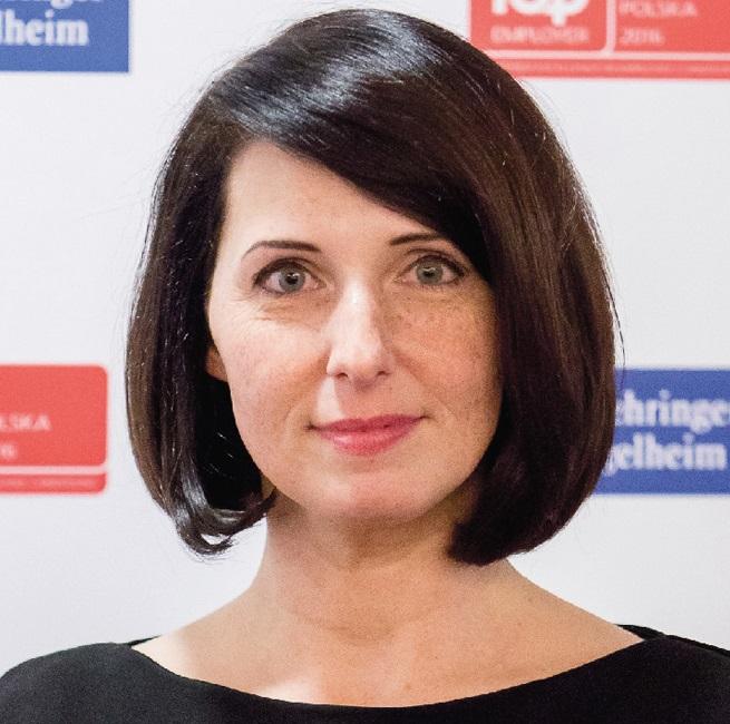 Marta Pogorzelska, HR Manager w firmie Boehringer Ingelheim