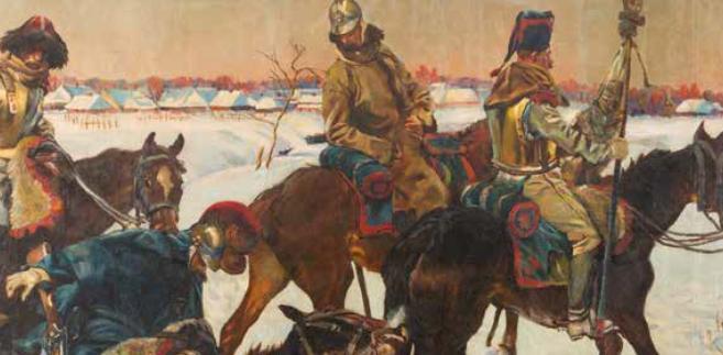 Panorama Berezyńska, malarstwo, Kossak