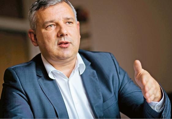 Piotr Dziedzic, dyrektor departamentu zwalczania przestępczości ekonomicznej w Ministerstwie Finansów