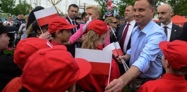Prezydent Andrzej Duda zrobi wiele, aby referendum zostało zorganizowane