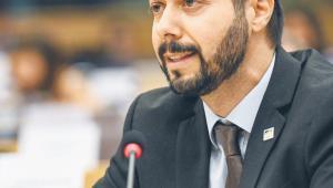 Pedro Felício, szef komórki Europolu ds. przestępczości przeciwko mieniu i przestępstw gospodarczych