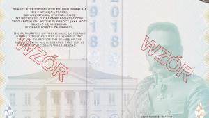 Wzór paszportu/ ROZPORZĄDZENIE MINISTRA SPRAW WEWNĘTRZNYCH I ADMINISTRACJI1) z dnia 6 sierpnia 2018 r. zmieniające rozporządzenie w sprawie dokumentów paszportowych