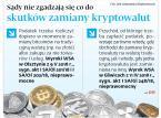 Będą nowe zasady opodatkowania zysku ze sprzedaży bitcoinów