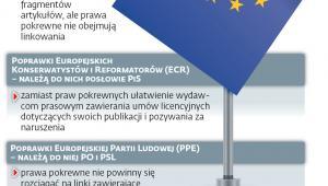 Frakcje PE o prawach pokrewnych