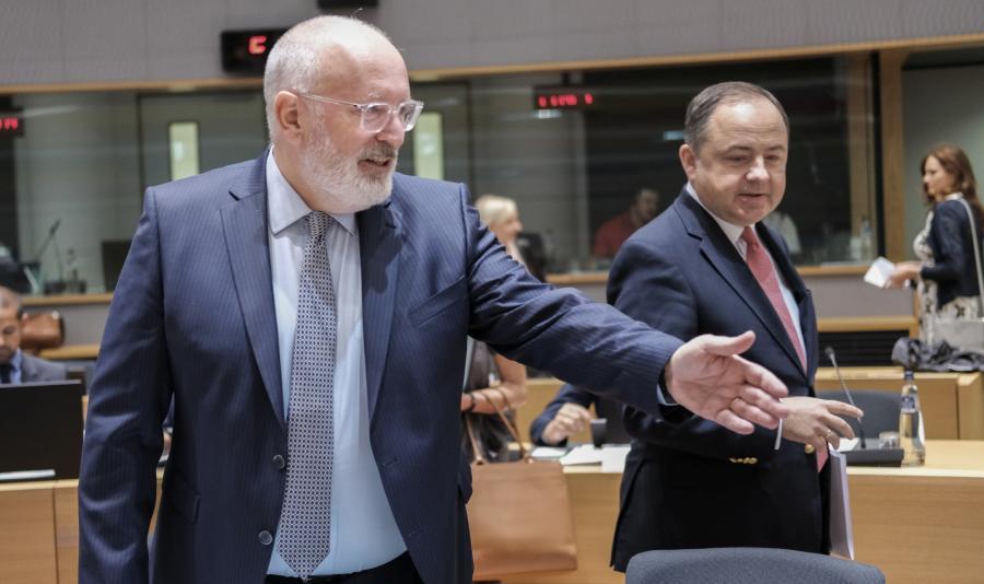 Wiceprzewodniczący KE Frans Timmermans