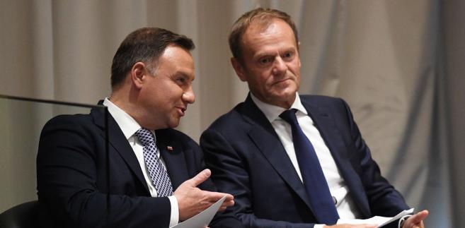 Prezydent Andrzej Duda z małżonką Agatą Kornhauser-Dudą od poniedziałku przebywa z wizytą w USA.