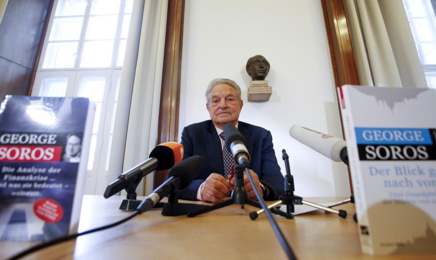 George Soros, miliarder węgierskiego pochodzenia, założyciel i prezes Soros Fund Management LLC.