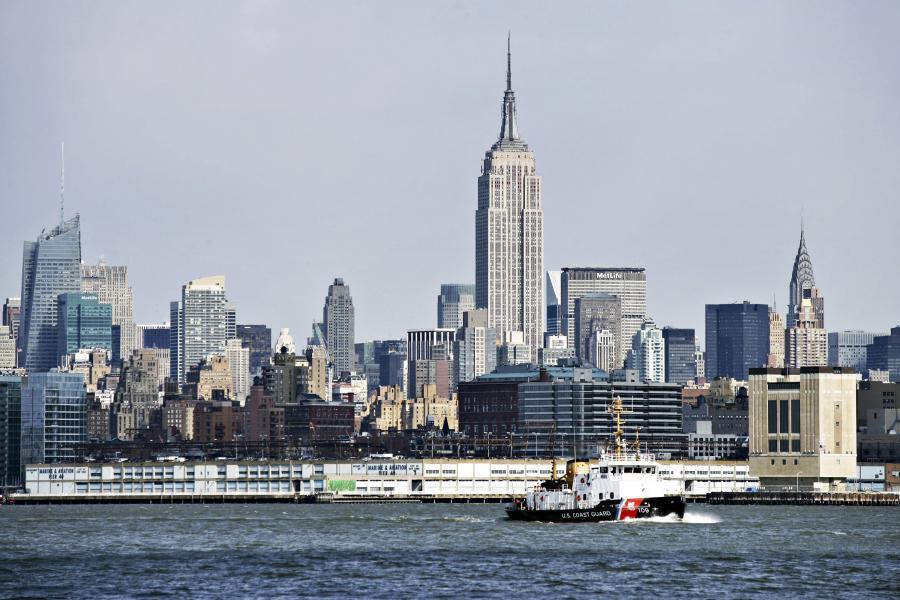 Nowy Jork jest wiodącą metropolią na świecie - widok na Empire State Building. Fot. Bloomberg
