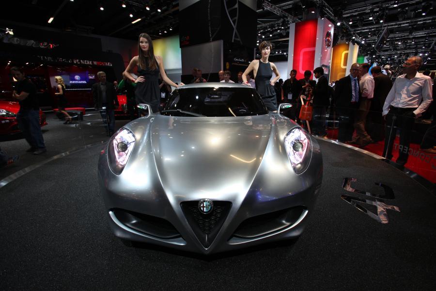 Koncepcyjna Alfa Romeo 4C