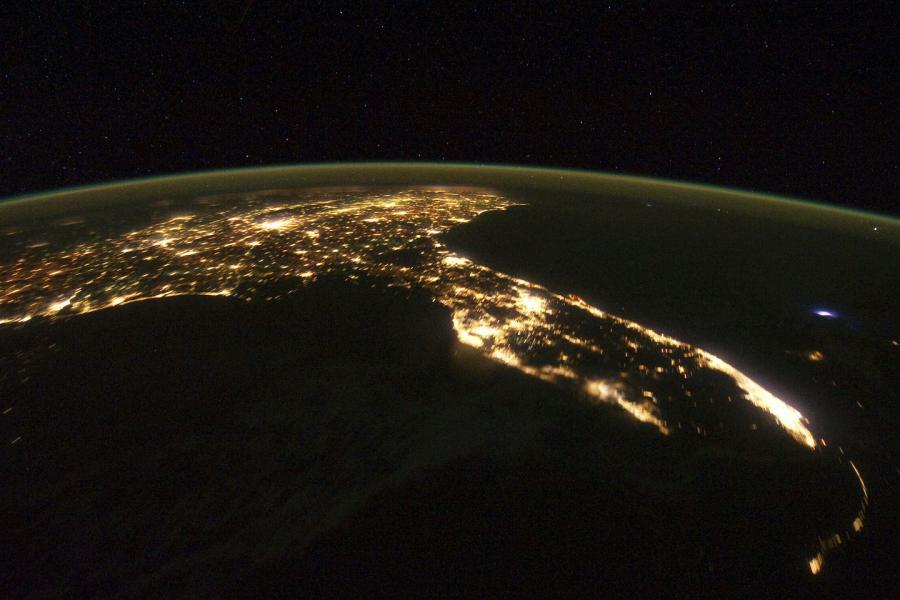 Floryda. Fot. dzięki uprzejmości NASA / JPL-Caltech