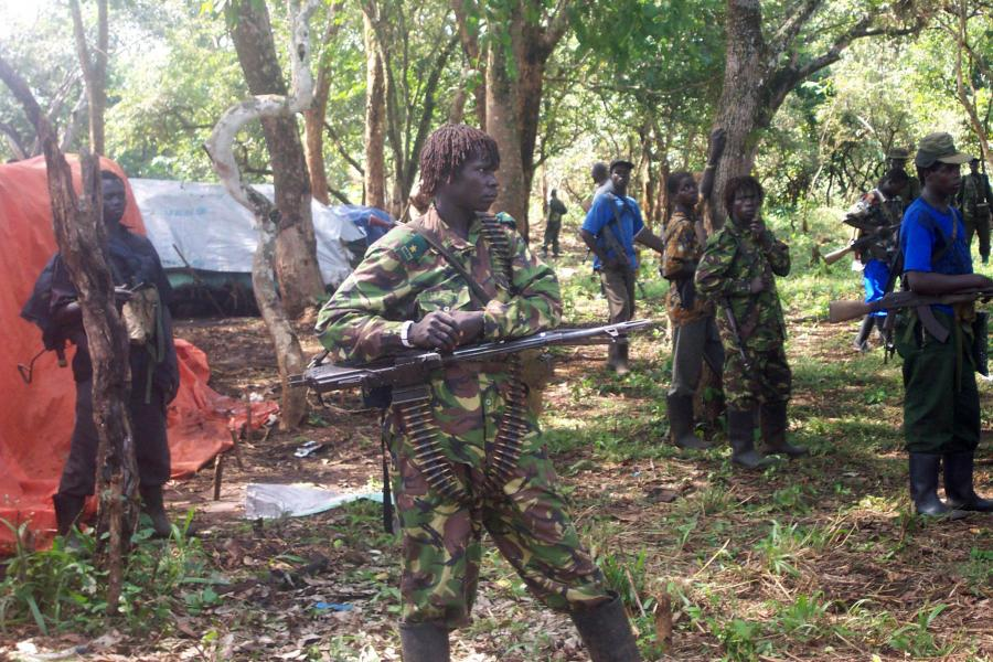 Żołnierze LRA