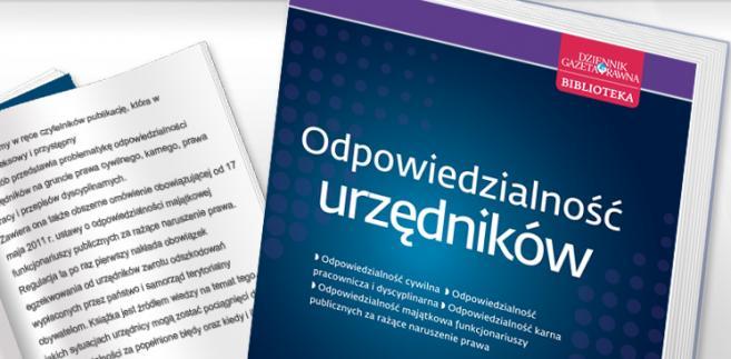 e-book: Odpowiedzialność urzędników
