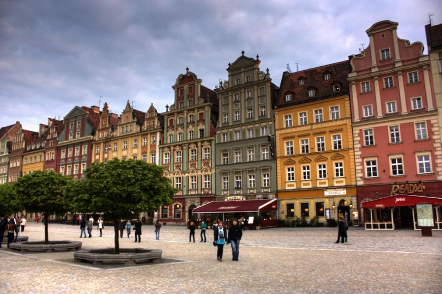 Wrocław. Fot.flickr/Klearchos Kapoutsis