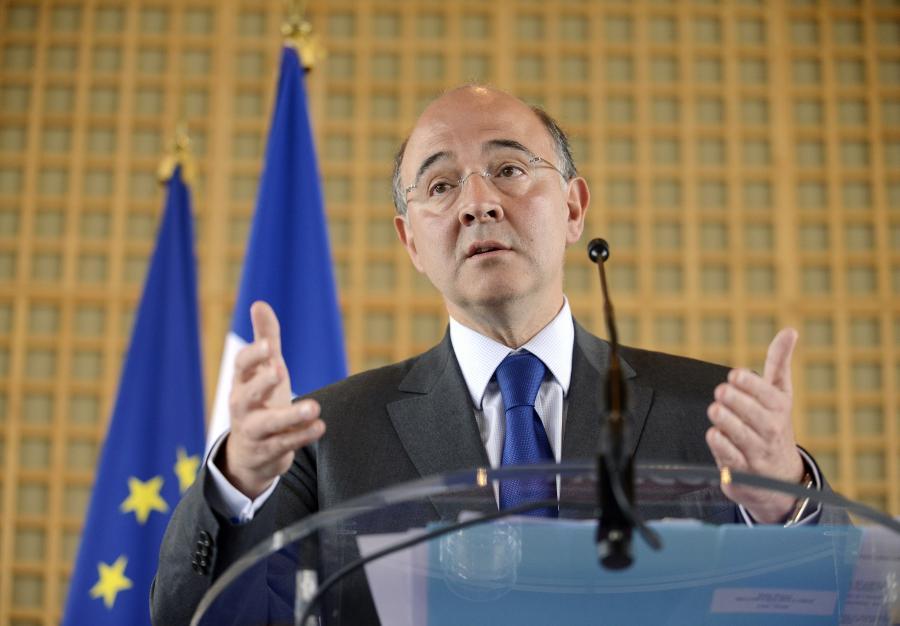 Pierre Moscovici, minister gospodarki, finansów i handlu zagranicznego Francji