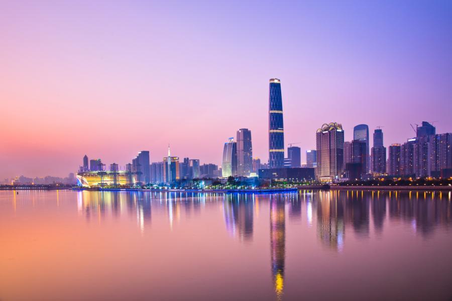 Panorama Kantonu, Chiny.